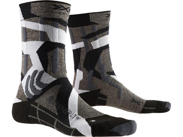 X-Socks Trek Pioneer LT Skarpetki Kobiety, granite grey/modern camo